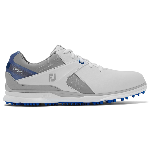 355188 WhiteGreyBlue FootJoy Pro SL Shoes